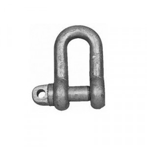 Waveline D Shackle Galvanised (Untested)
