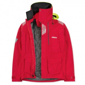 Musto BR2 Offshore Jacket Red 2018