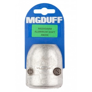 MG Duff Shaft Anode Streamline Aluminium