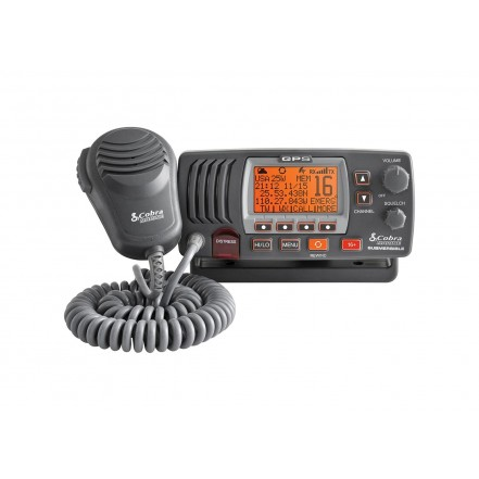 Cobra F77 VHF Radio with Internal GPS
