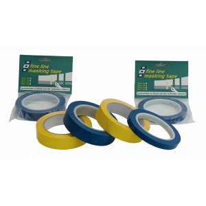 PSP Tapes Fine Line Masking Tape 33 Metre Roll