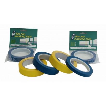 PSP Tapes Fine Line Masking Tape 33 Metre Roll