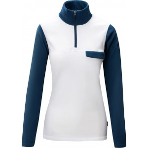 Helly Hansen Sunset 1/2 Zip Fleece White/Blue