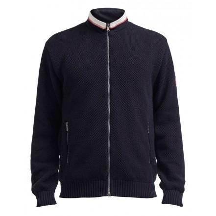 Holebrook Axel Fullzip Windproof Sweater Navy