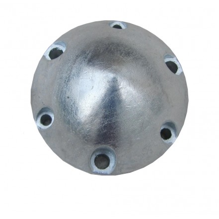 Tecnoseal Maxprop 6-Hole Anode Zinc