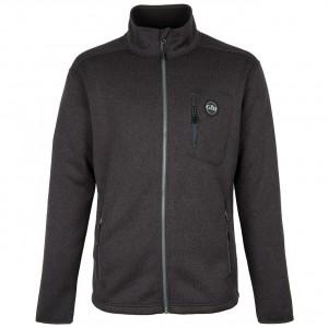 Gill Knit Fleece Jacket Ash