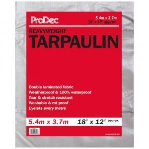ProDec Tarpaulin Heavyweight Silver