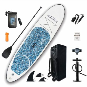 E.P. Barrus Stand Up Paddleboard Kit Blue