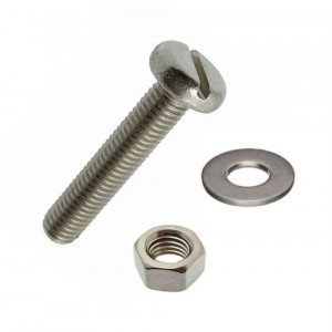 Holt Marine Machine Screw Stainless Steel Pan Head