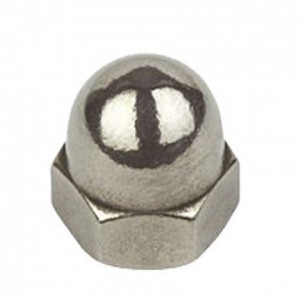 Holt Marine Dome Nuts Stainless Steel (A4)