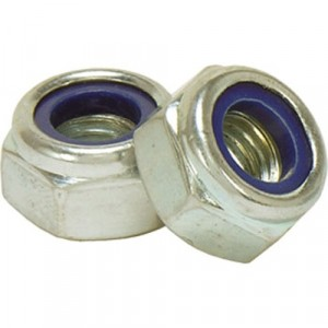 Holt Marine Stainless Steel Nylock Nuts Pack 2