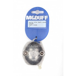 MG Duff ZSA Zinc Shaft Anodes
