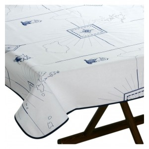 Marine Business Columbus Tablecloth