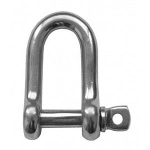 D Shackle Stainless Steel